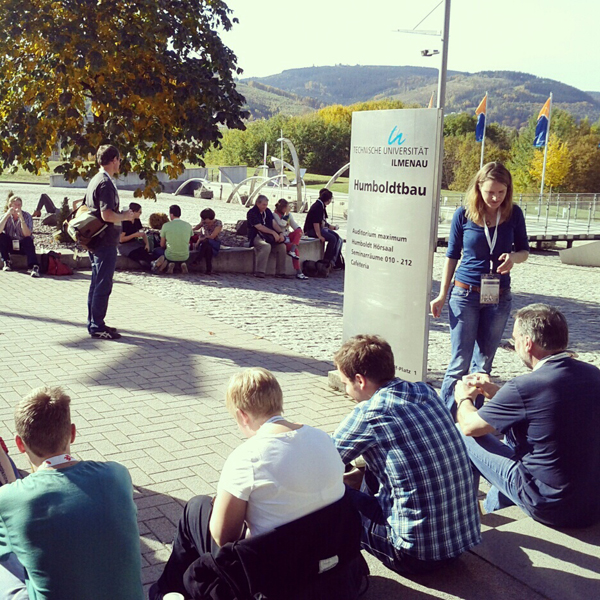 Educamp Ilmenau, Foto: Tine Nowak