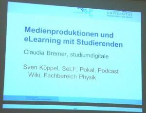 Vortrag Claudia Bremer